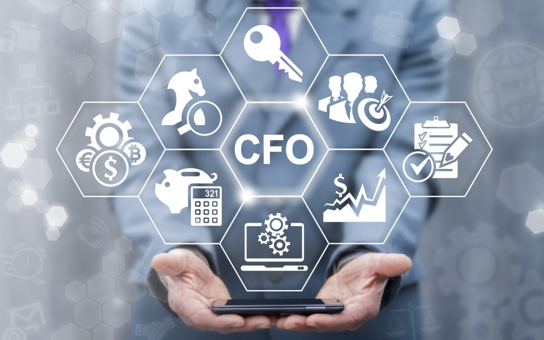 key, CFO, target, settings, automation,graph, checklist and money-box icons