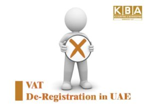 VAT Deregistration in UAE