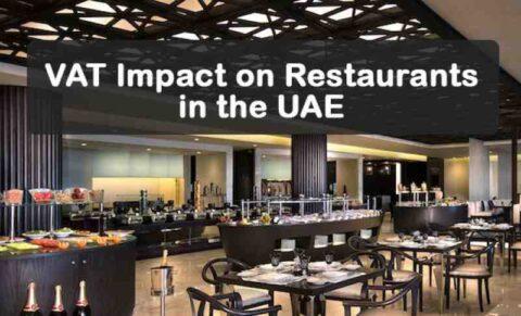 VAT Impact on Restaurants in the UAE